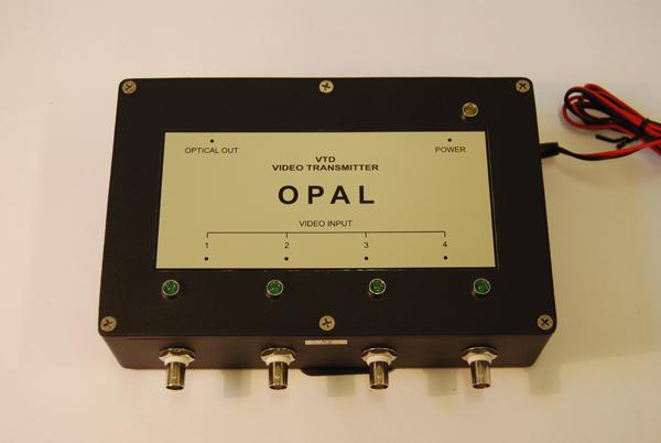 видеосигналы в оптическое